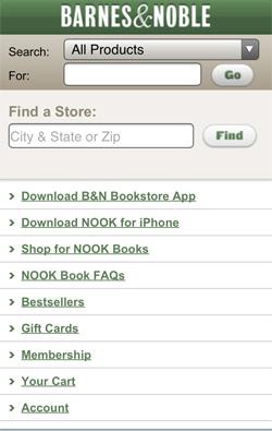 Barnes & Noble Mobile