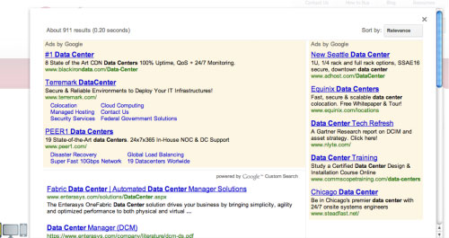 6. google custom search