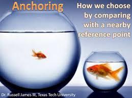 anchoring bias