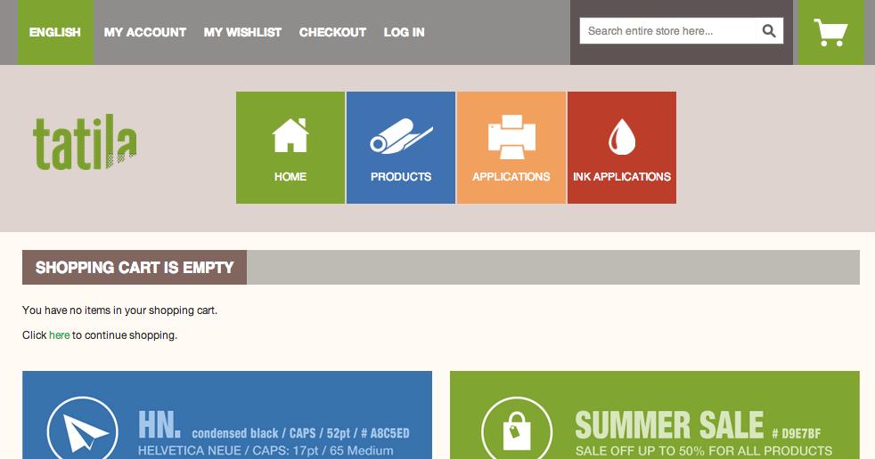 Tatila website