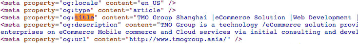TMO Group meta tag