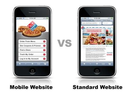 Simplicity works best for mobile