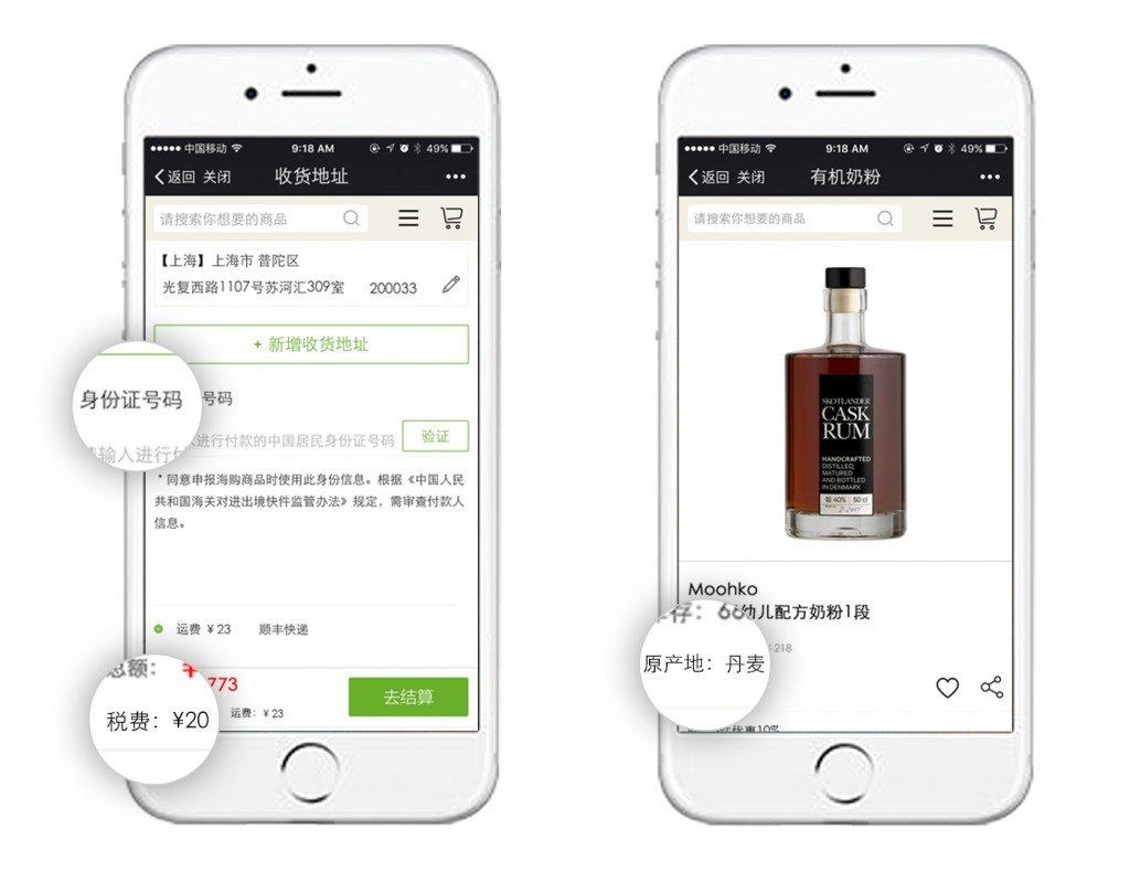 cross border eCommerce China TMO Group