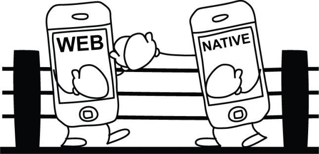 native app web app