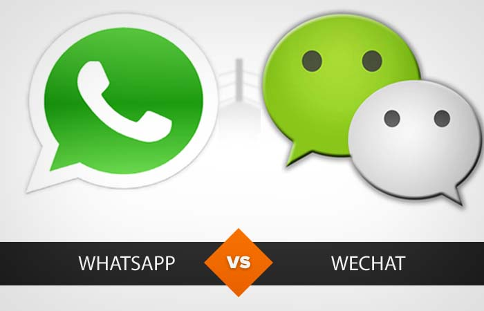 WeChat vs WhatsApp: Who does What, and Where? [Infographic