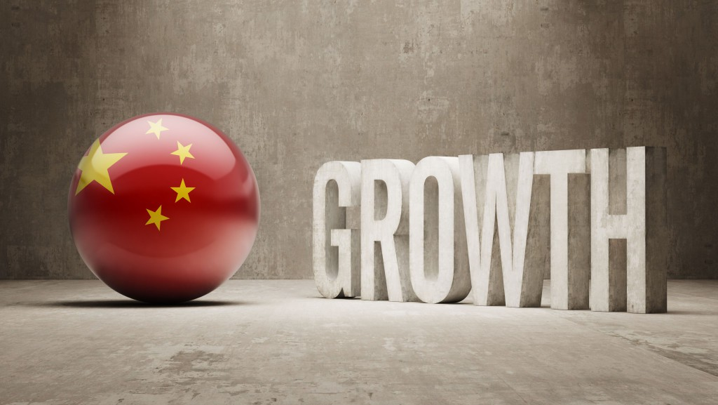 China. Growth Concept.