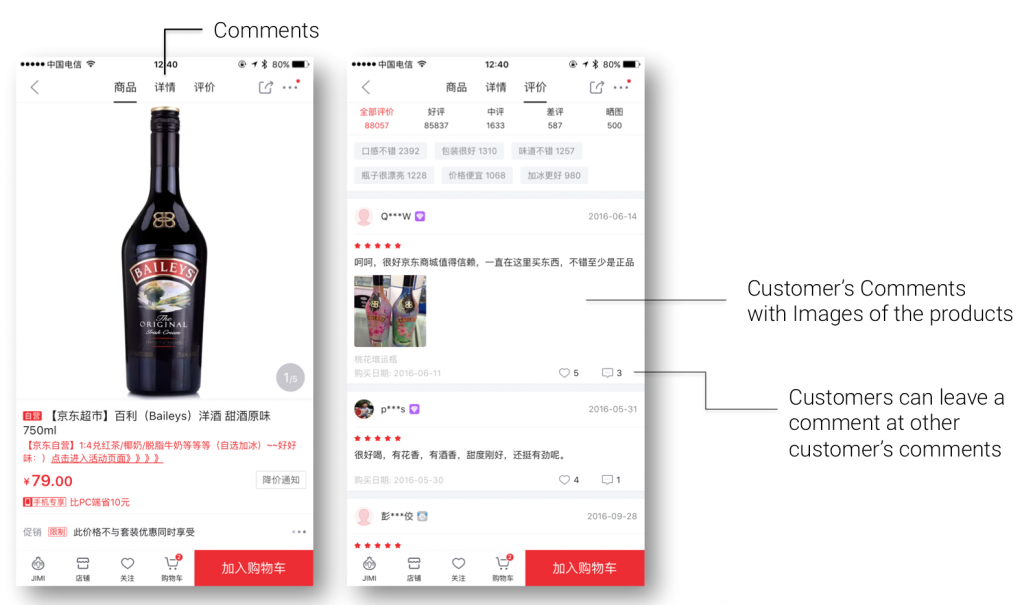Comments China eCommerce