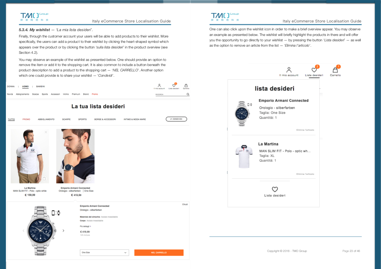 italy ecommerce store localisation guide