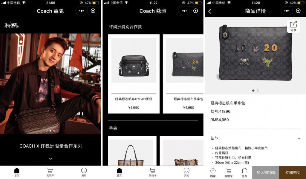 wechat mini programs coach multi-channel ecommerce
