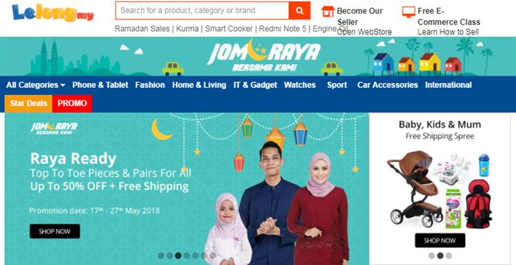 southeast asia online marketplaces Lelong