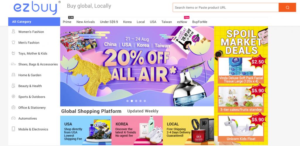 southeast asia online marketplaces ezBuy
