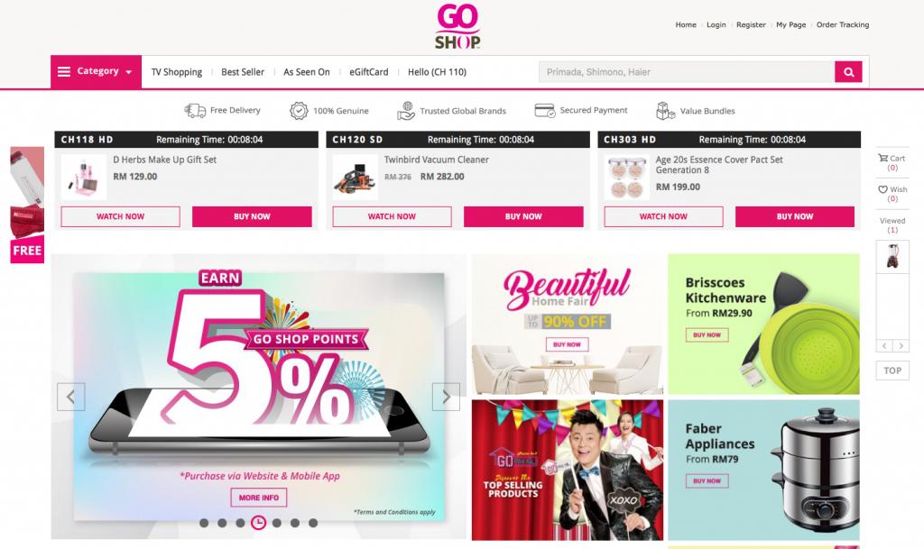 southeast asia online marketplaces goshop