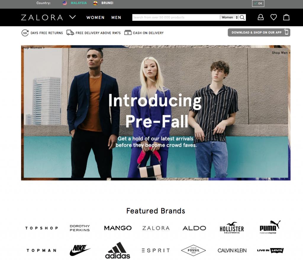 southeast asia online marketplaces zalora