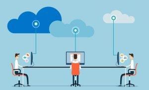 Cloud hosting IT team