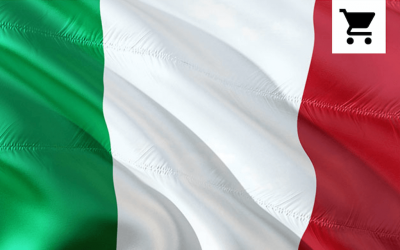 Italy Store Localisation Guide Flag