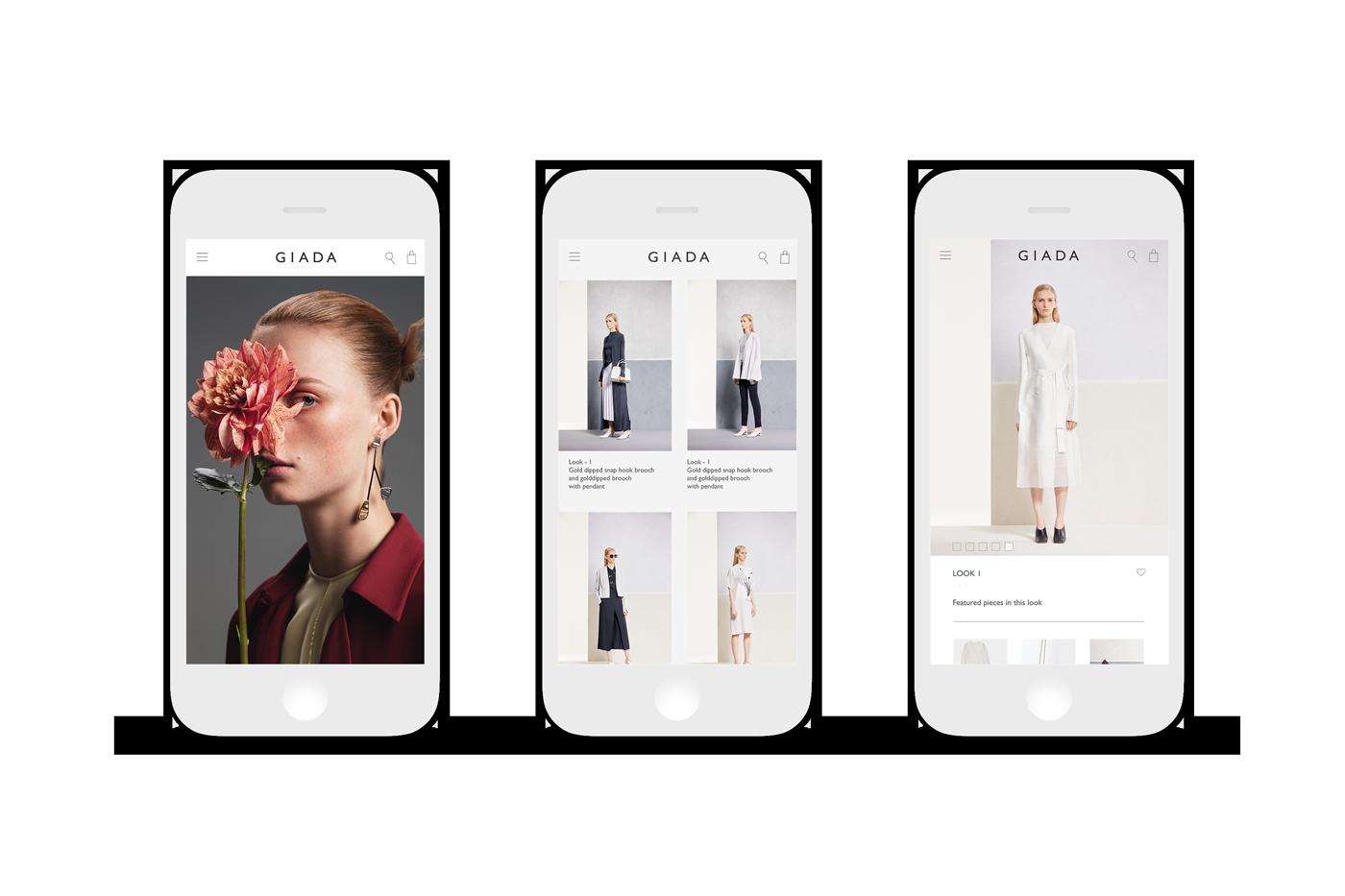 Cross border eCommerce-Mobile Responsive Design-Giada
