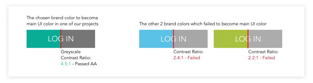 senior app design colors