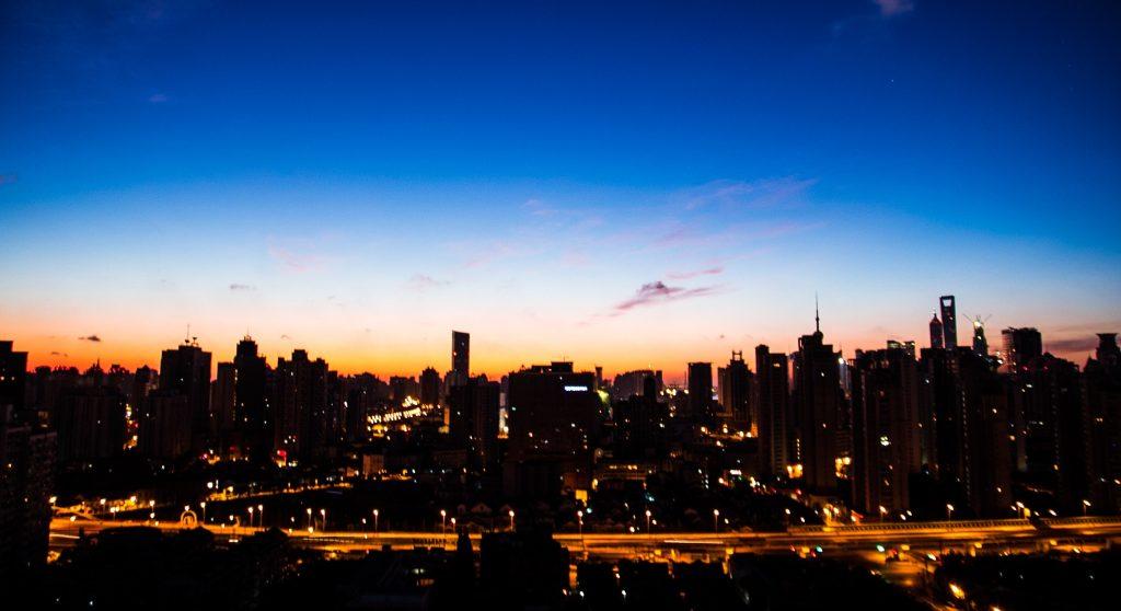 coronavirus shanghai sunrise