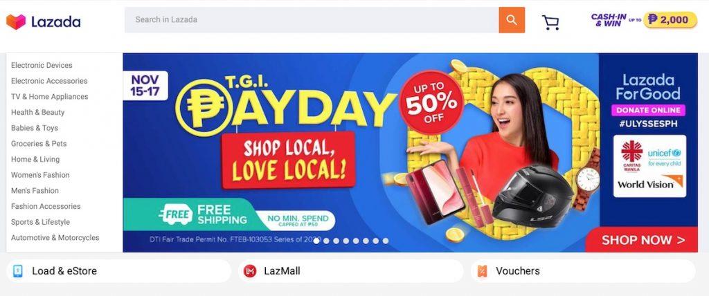 Southeast Asia eCommerce market lazada singles day
