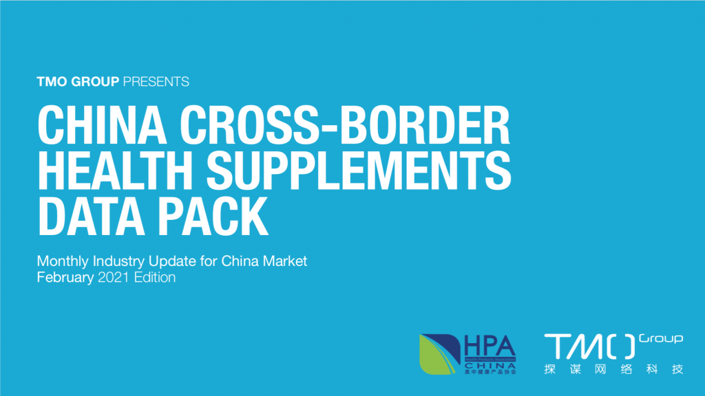 china health supplements market february data pack cover