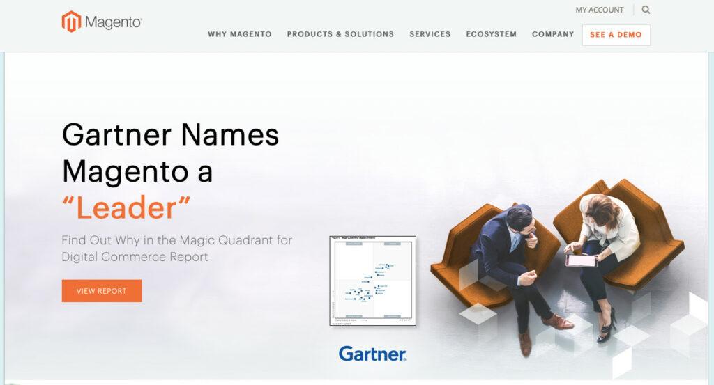 "Magento in 2017. ""Leader"" in Gartner's ranking"