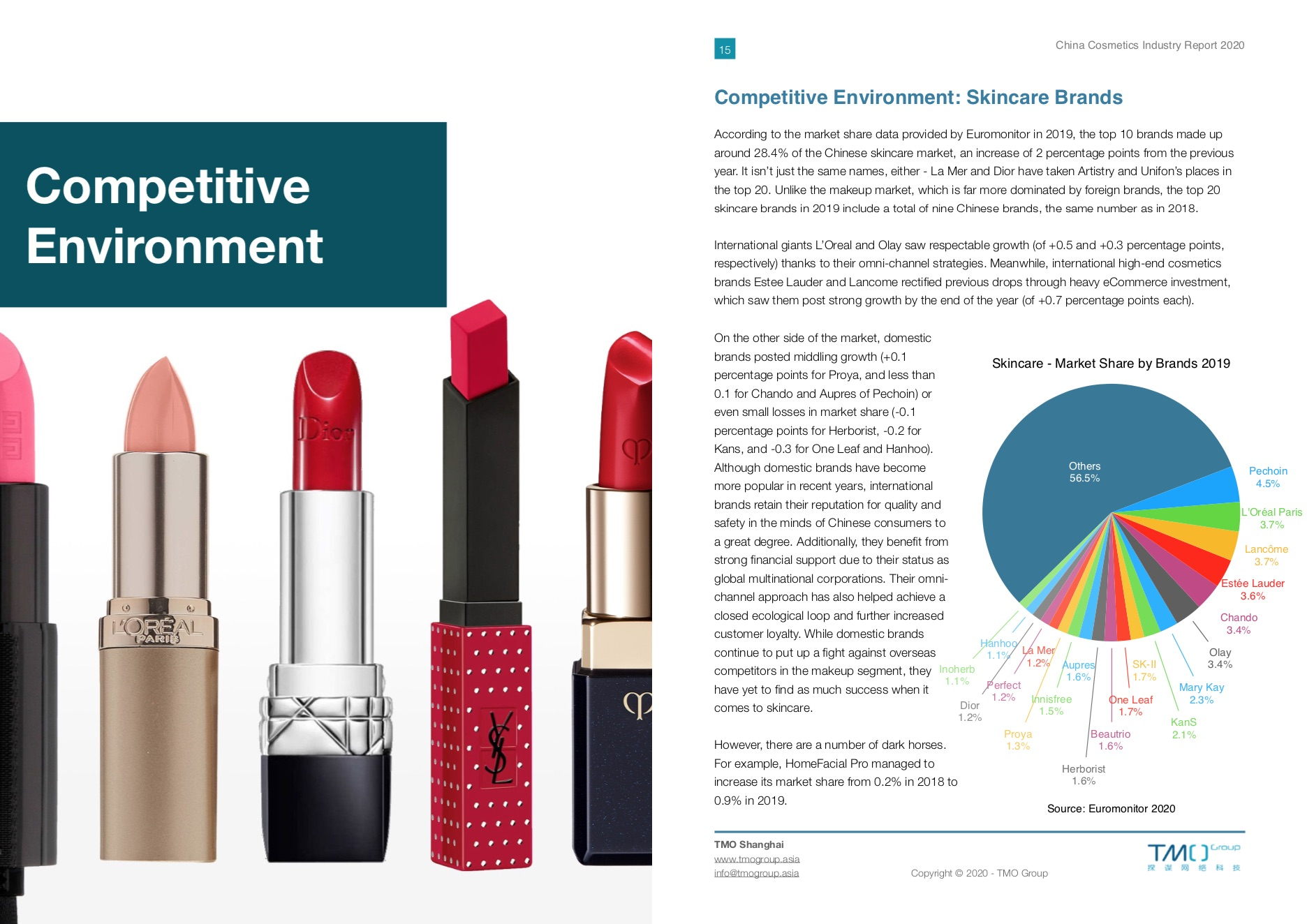 china cosmetics industry report
